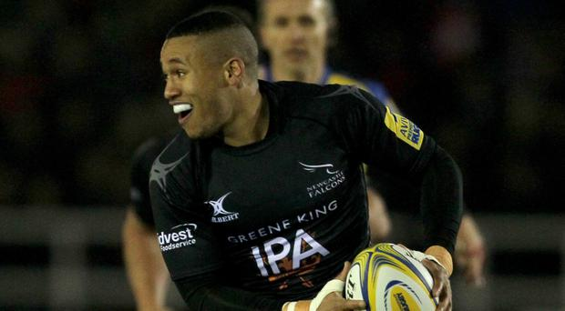Newcastle winger Marcus Watson will join Wasps next season