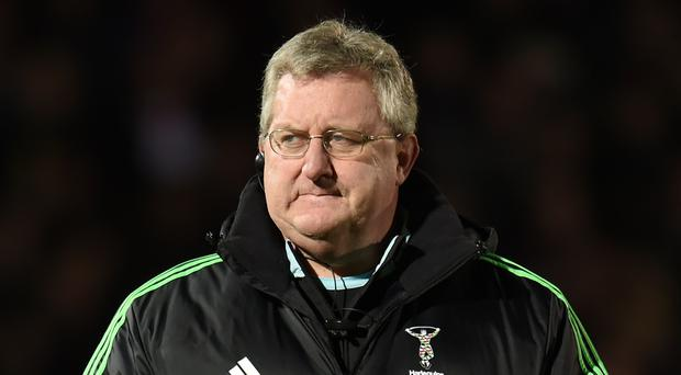 Harlequins rugby director John Kingston, pictured, is delighted with the signing of Wasps prop Phil Swainston