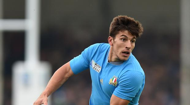 Tommaso Allan replaces Carlo Canna at fly-half in one of four Italy changes against England