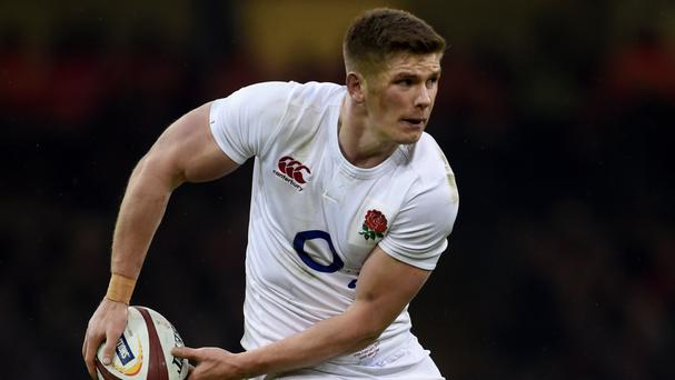 There is no danger of Owen Farrell becoming complacent in the England camp