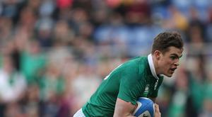 Ireland's Garry Ringrose has shouldered more defending in the absence of Jared Payne