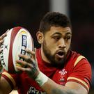 Wales back-row forward Taulupe Faletau will be on the bench for Saturday's Six Nations clash against Scotland
