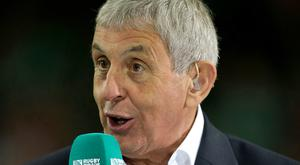 Sir Ian McGeechan, pictured, believes Dylan Hartley is a potential Lions captain