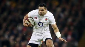 England's Ben Te'o will start against Italy