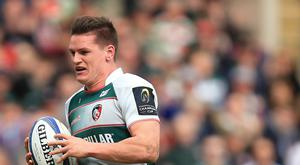 Freddie Burns scored a try for Leicester in the win over Harlequins