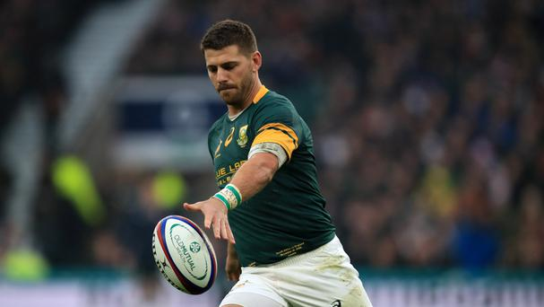 South Africa's Willie le Roux is set for his home Wasps debut