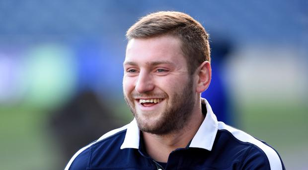 Scotland's Finn Russell was clinical with the boot against Wales