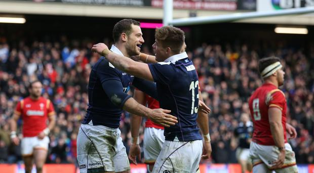 Scotland have beaten Wales for the first time in 10 years