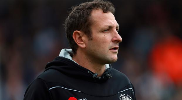 Exeter Chiefs backs coach Ali Hepher was pleased with the second-half performance against Newcastle