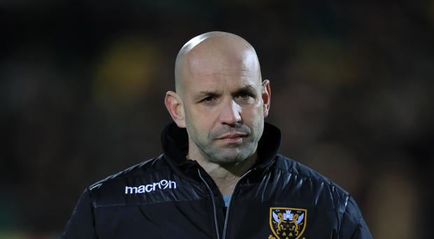 Jim Mallinder was encouraged by Northampton's performance
