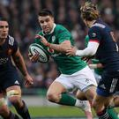 Conor Murray, centre, scored the only try as Ireland beat France