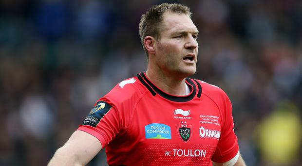 Ali Williams has been suspended by Toulon pending the outcome of an investigation