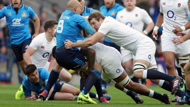 Joe Launchbury acknowledged England were not at their best against Italy