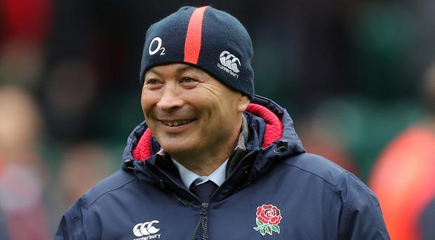 Eddie Jones' England registered a 17th consecutive Test victory on Sunday