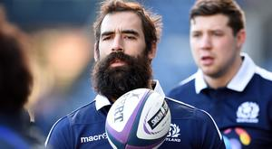 Scotland's Josh Strauss has joined Sale