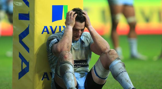 Phil Dowson is in trouble with the Rugby Football Union