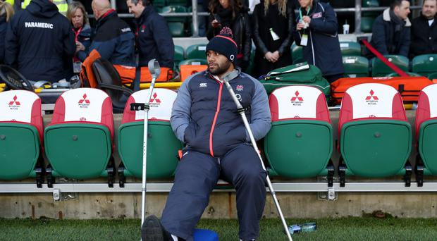 Billy Vunipola has recovered from his knee injury