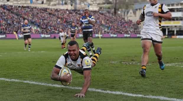 Kurtley Beale starred as Wasps defeated Bath