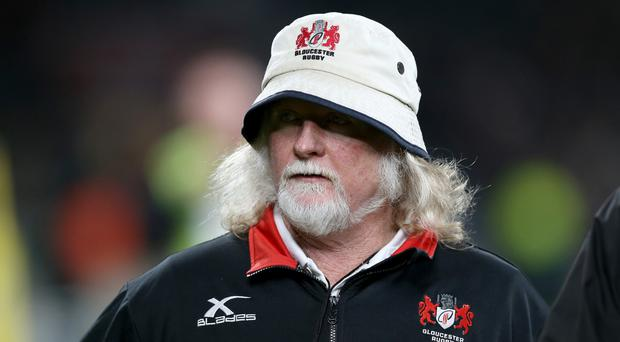 Laurie Fisher, who has left his position as Gloucester head coach
