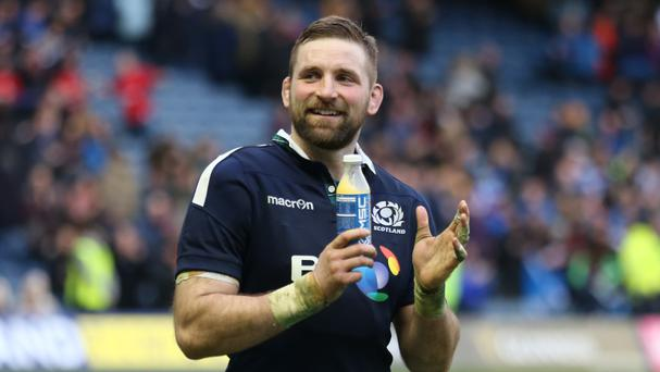 England's Farrell in injury scare ahead of Scotland clash