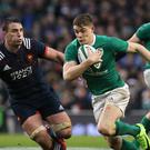 Garry Ringrose keeps his place in an unchanged Ireland side to face Wales