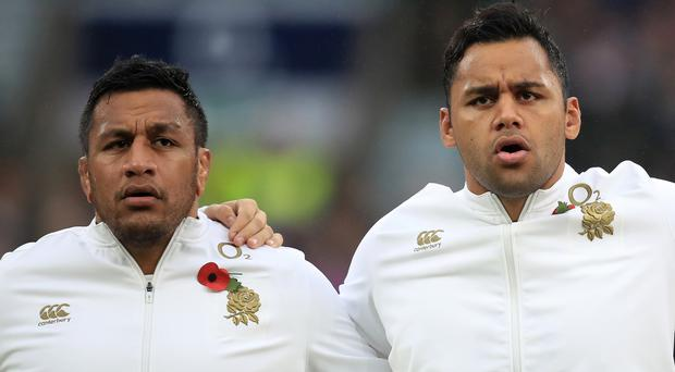 Mako Vunipola, left, and Billy Vunipola are back in England contention