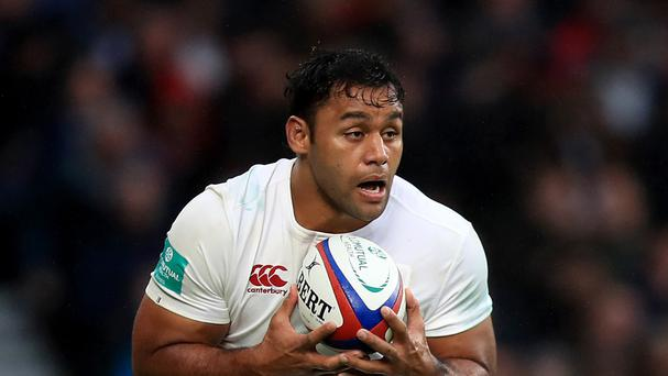 England's Billy Vunipola is set for a second-half appearance against Scotland