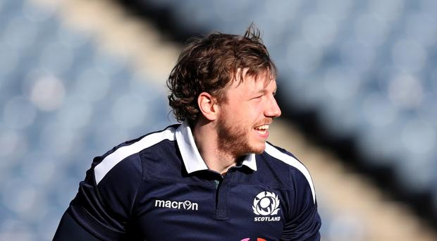 Scotland's Hamish Watson has been recalled to Vern Cotter's starting XV to face England on Saturday