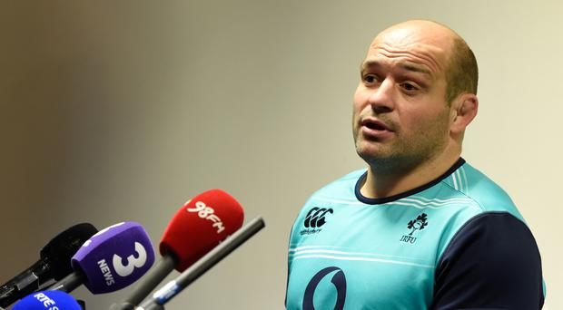 Rory Best, pictured, has insisted Ireland can cope with the sensory overload of facing Wales in Cardiff under a closed roof