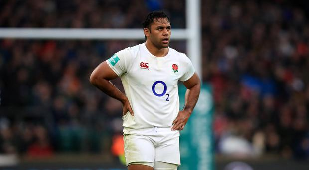 Billy Vunipola has been named on England's bench