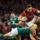 Wales winger George North was described as 'world class' by coach Rob Howley after his two-try show in the 22-9 victory over Ireland