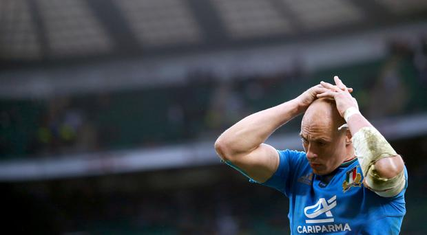 Sergio Parisse's Italy slipped to another heavy home loss