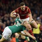 George North returned to top form in Wales' 22-9 Six Nations victory over Ireland