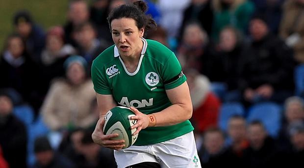 Ready: Ireland captain Paula Fitzpatrick
