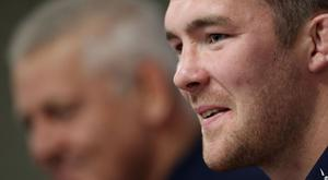 Peter O'Mahony, pictured, has been tipped to lead the British and Irish Lions to a first Test victory over the All Blacks