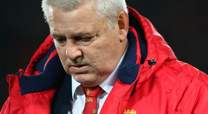 Straight talking: disappointed Lions coach Warren Gatland