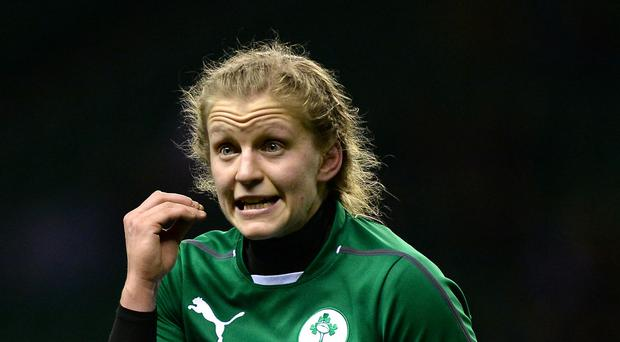 Claire Molloy, pictured, will captain Ireland at the Women's Rugby World Cup