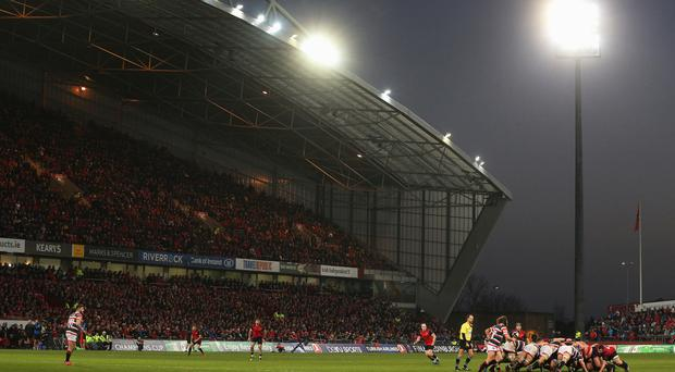 Thomond Park saw Alex Wootton score four tries for Munster against Cheetahs