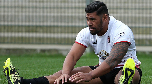 Priority: Charles Piutau chose to stay in Ulster another year