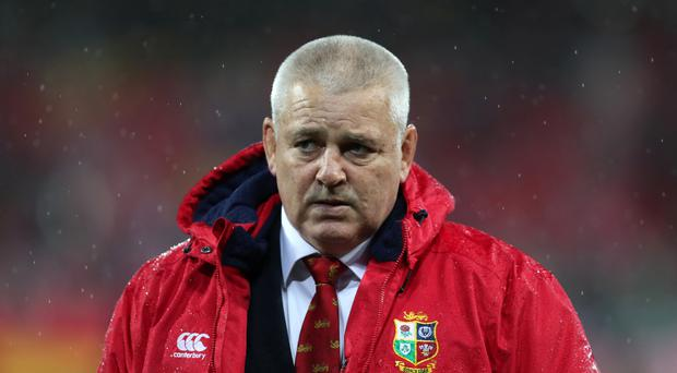 Warren Gatland coached the British and Irish Lions to a drawn Test series against New Zealand earlier this year
