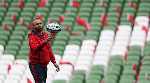 Munster's Simon Zebo is heading abroad at the end of the season