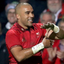 Powerhouse: Simon Zebo scored his 57th provincial try