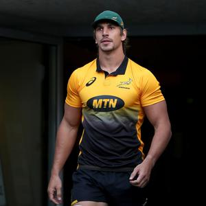Leading by example: South Africa skipper Eben Etzebeth