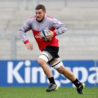 Hard grafter: Sean Reidy is determined to back-up Sunday's win over Harlequins