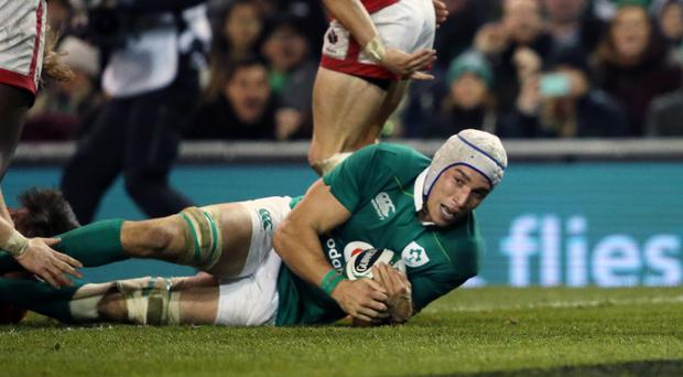 Ireland international Ultan Dillane scored twice against Ulster