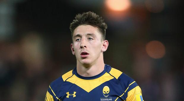 Josh Adams in action for Worcester (Nigel French/PA)