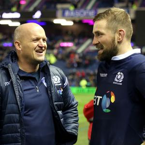 Gregor Townsend and John Barclay will lead Scotland into the Six Nations