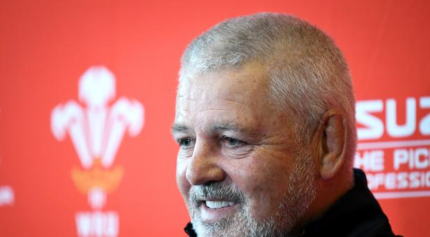 Wales head coach Warren Gatland is feeling confidend ahead of the NatWest 6 Nations (Ben Birchall/PA Wire)