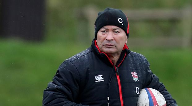 England coach Eddie Jones has named his squad