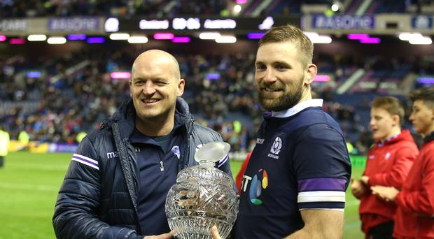 Scotland v Australia – Autumn International – Murrayfield Stadium